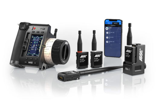 Image of various products in ARRI Hi-5 system