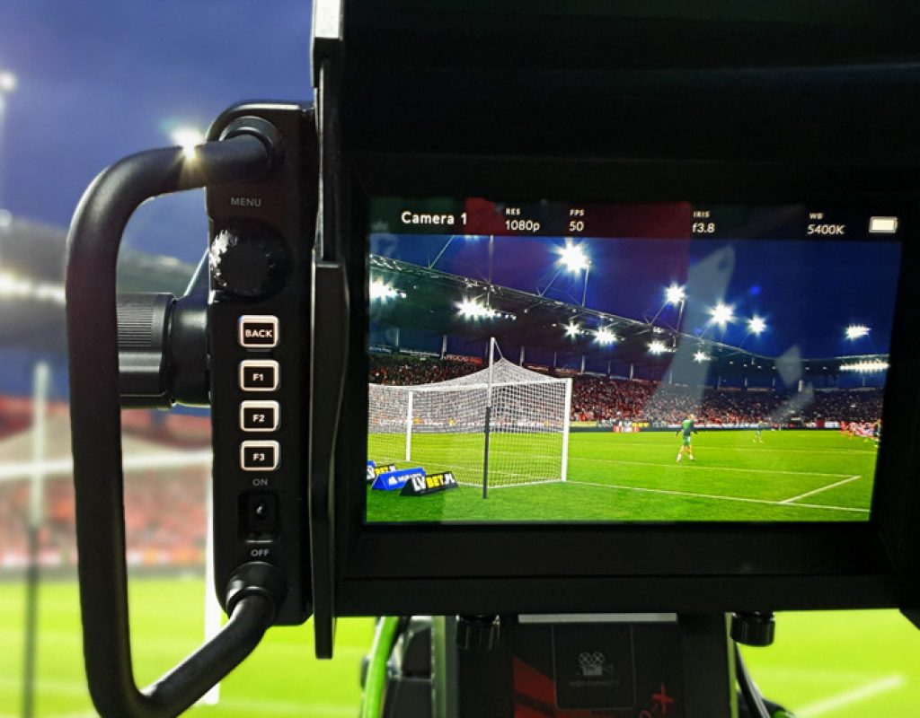 Poland's National Football Association Livestreams with Blackmagic Design 1
