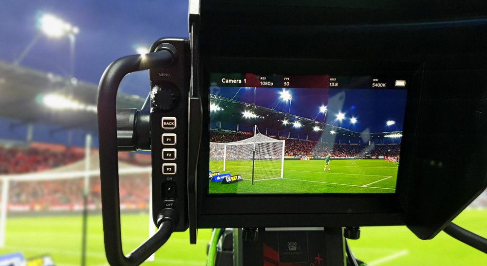 Poland's National Football Association Livestreams with Blackmagic Design 3
