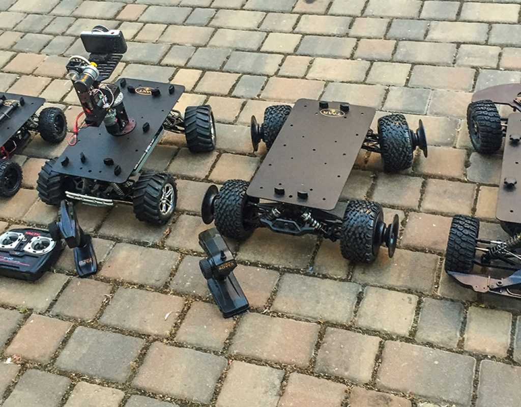 Small Cine-Rovers for video production: Part 2 - Eclipse Rovers 1