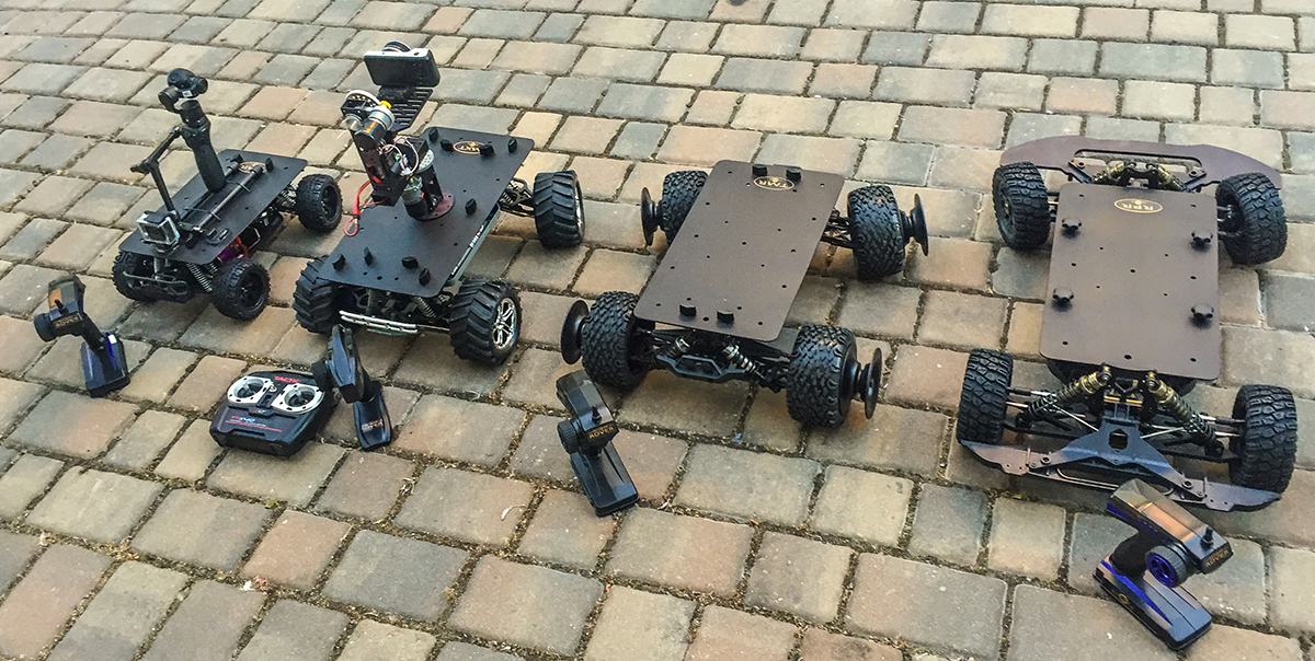 Small Cine-Rovers for video production: Part 2 - Eclipse Rovers 2