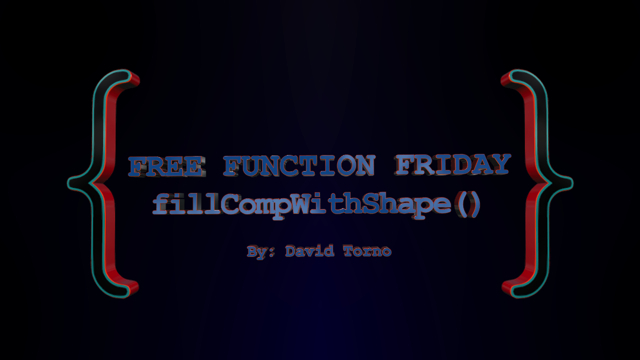 Free Function Friday fillCompWithShape 2