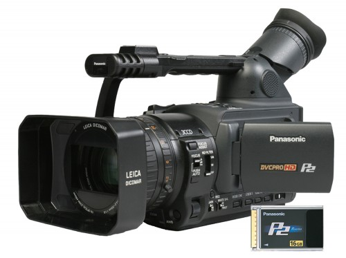 Panasonic Ships Popular AG-HVX200 With Free 16GB P2 1