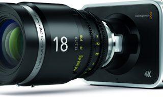 Blackmagic 4K Production Camera Now Shipping
