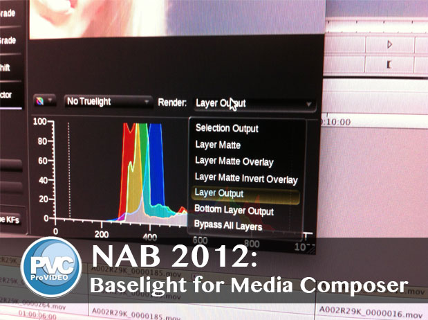 NAB 2012: Baselight for Avid Media Composer 1