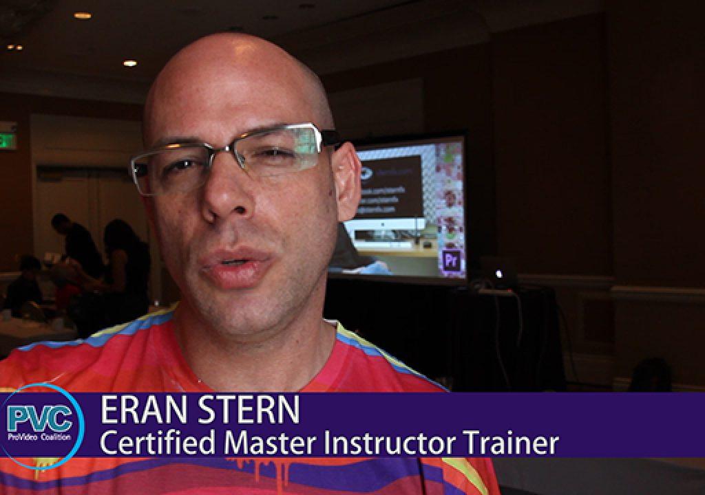 Premiere Pro World Conference: Eran Stern 2