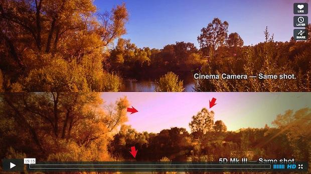Marco Solorio compares Blackmagic Cinema Camera with Canon 5D MKIII 1