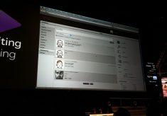 Avid's web-based editing demo