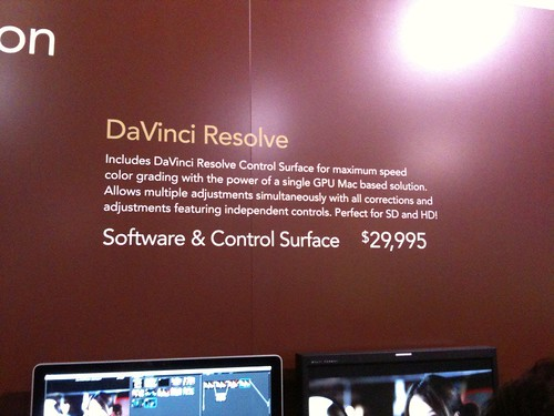 DaVinci Resolve with panel
