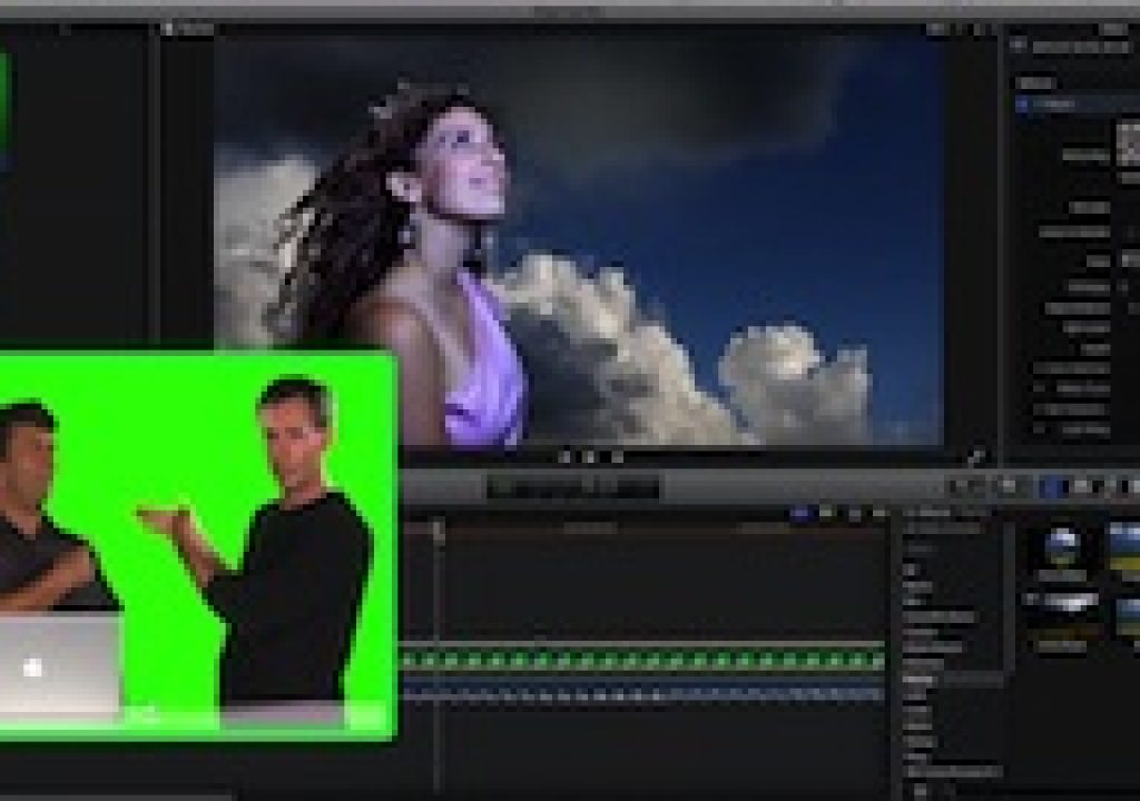 Keying a Shot in Final Cut Pro X 1