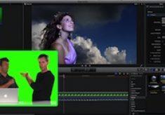 Keying a Shot in Final Cut Pro X