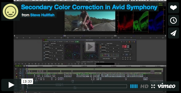 Secondary Color Correction Video Tutorial 2