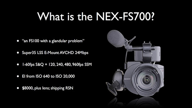 High Speed and Low Light with the NEX-FS700 53