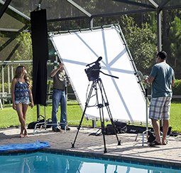 Digital Juice Releases New 8' x 8' Portable Butterfly Frame Kit 1