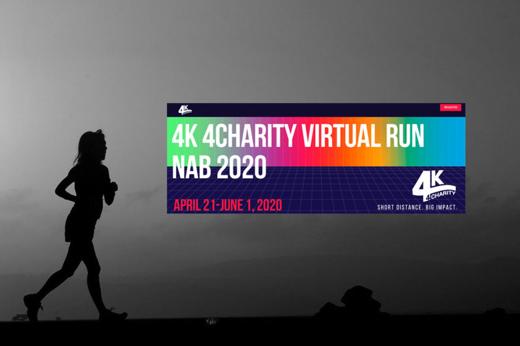 Annual 4K 4Charity Run at NAB Show goes virtual