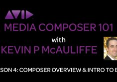 Media Composer 101 – Lesson 4 – Composer Overview & Intro to Bins