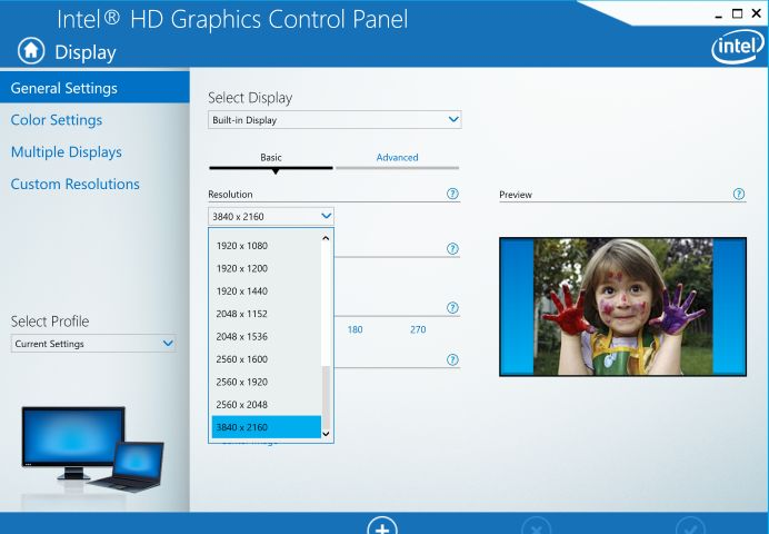 """Resolution is up to UHD. Dell says """"The PremierColor display is the first ever mobile workstation with 100% minimum Adobe color gamut."""""""