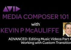 Media Composer 101 – Advanced – Editing Music Videos Part 4