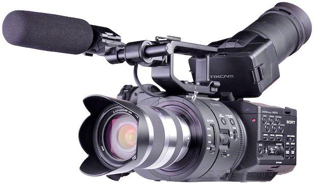 "Review: Sony NEX-FS700 ""Super35"" LSS AVCHD Camcorder 3"