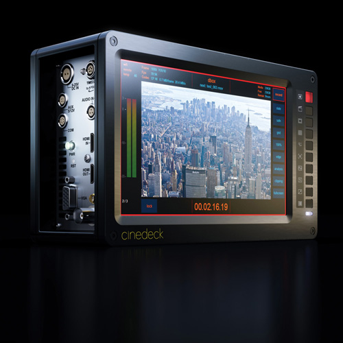 Cinedeck EXTREME:First Ultra Portable DDR, Monitoring Device to Support All Versions of Apple ProRes 1