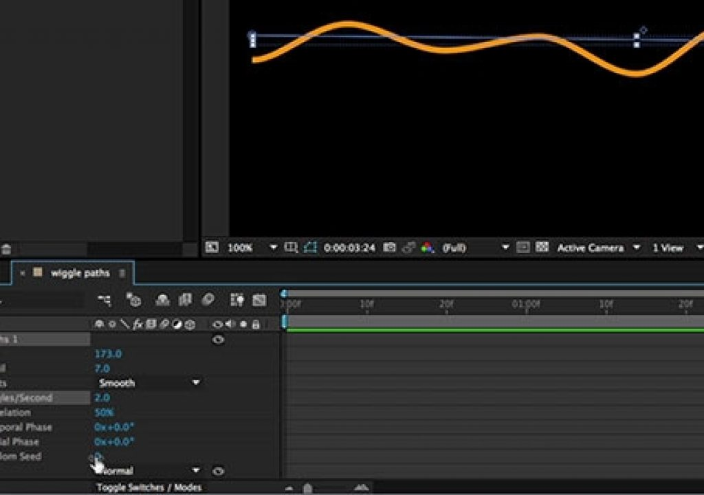 After Effects Hidden Gems Weekly: Wiggle Paths 1