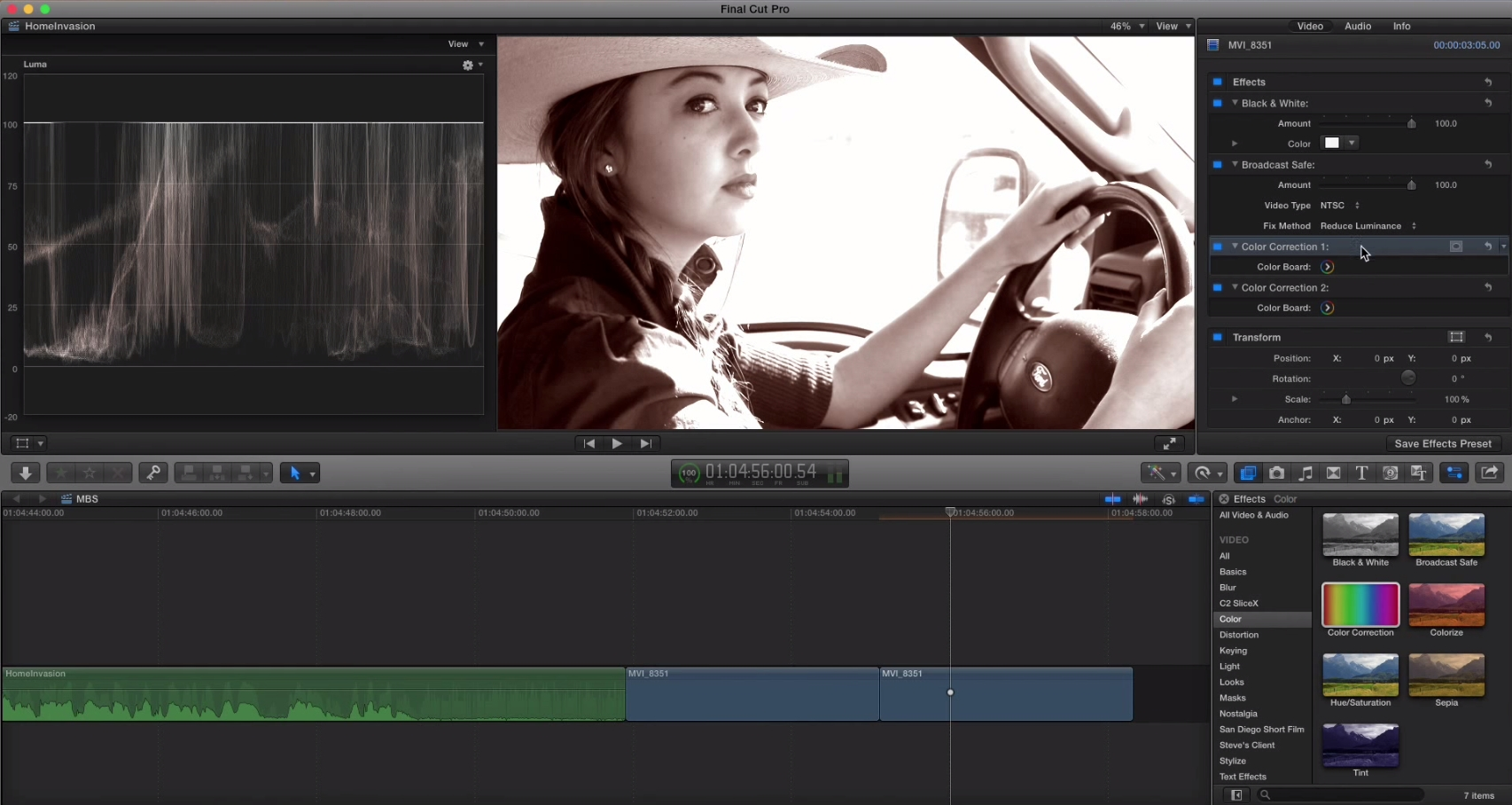 The Effects Processing Pipeline in Final Cut Pro X 2