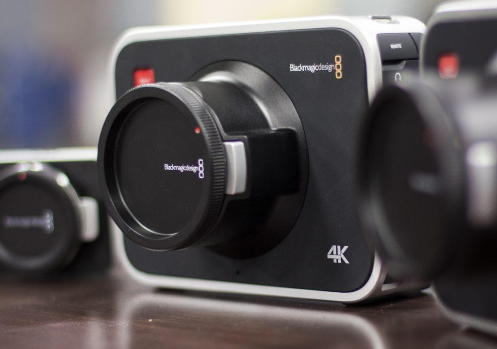 Flying The 4K Blackmagic Production Camera 3