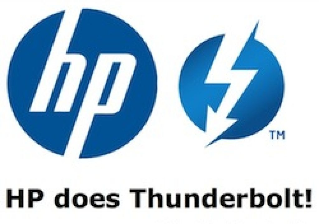 HP does Thunderbolt! Yes! 1