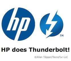 HP does Thunderbolt! Yes! 30