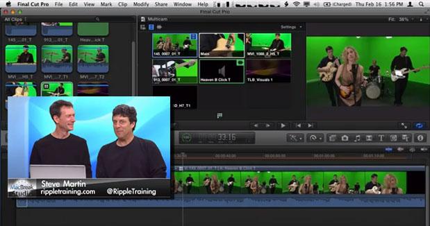 Multi-cam Editing in Final Cut Pro X: Edit 1