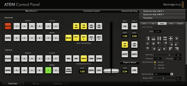 Blackmagic Design Announces New Audio Mixer for ATEM 1 M/E Production Switcher and ATEM 1