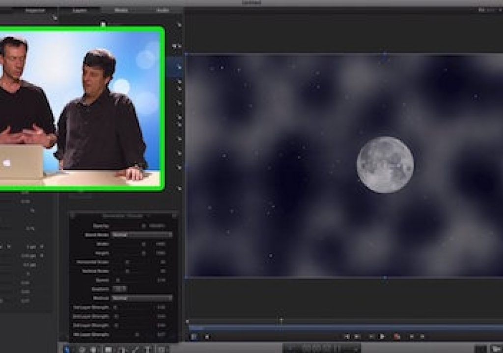 Creating a Night Sky in Motion 1