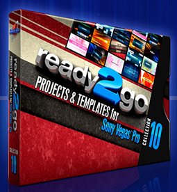 Two New Sony Vegas Pro Template Packages - Visually Stunning 1