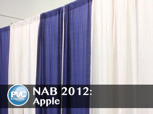 NAB 2012: Apple and Final Cut Pro X 1