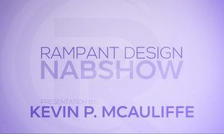 NAB 2015 – Working the Rampant Design Tools Booth