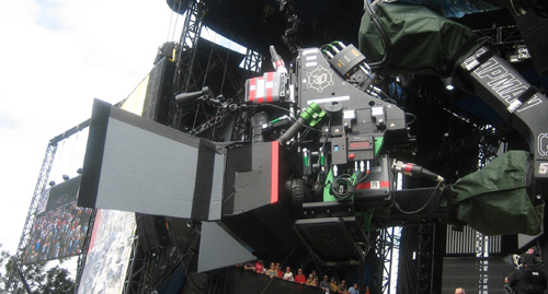 """Quasar 3D Rig used on Dave Matthews Band Concert Feature """"Larger Than Life in 3D"""" 1"""