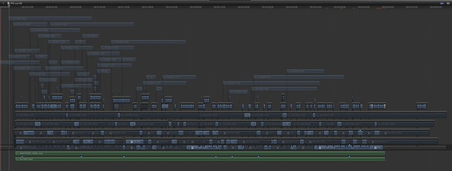 Final Cut Pro X timeline imported from FCP7