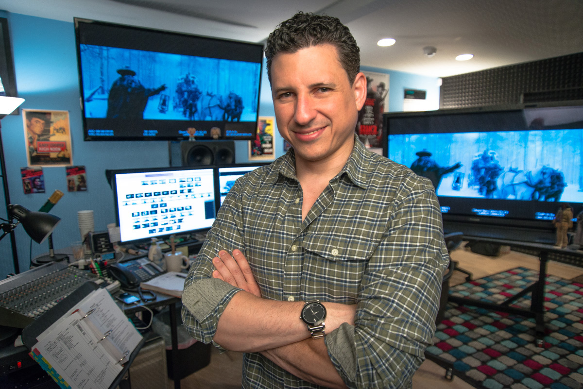 Art of the Cut with Fred Raskin, editor of HATEFUL EIGHT 2