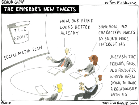 """The state of Social Media """"thought leadership"""" today. 3"""