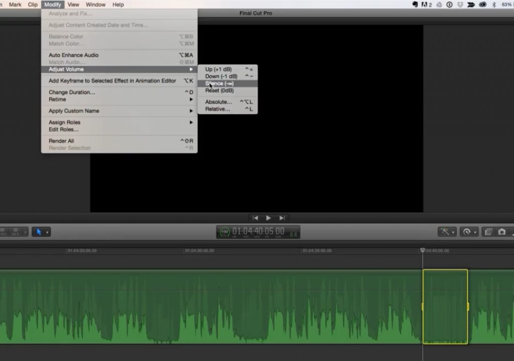 New Audio Features in Final Cut Pro 10.2 1