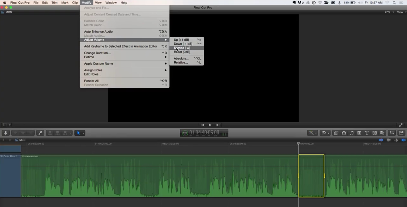 New Audio Features in Final Cut Pro 10.2 7