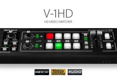 Introducing the Roland V-1HD – A Compact, Full 1080p HD Switcher for only $995