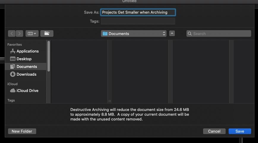 Destructive Project Archive