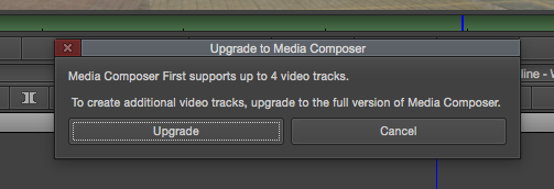 The first 30 days (or so) of Media Composer First 30