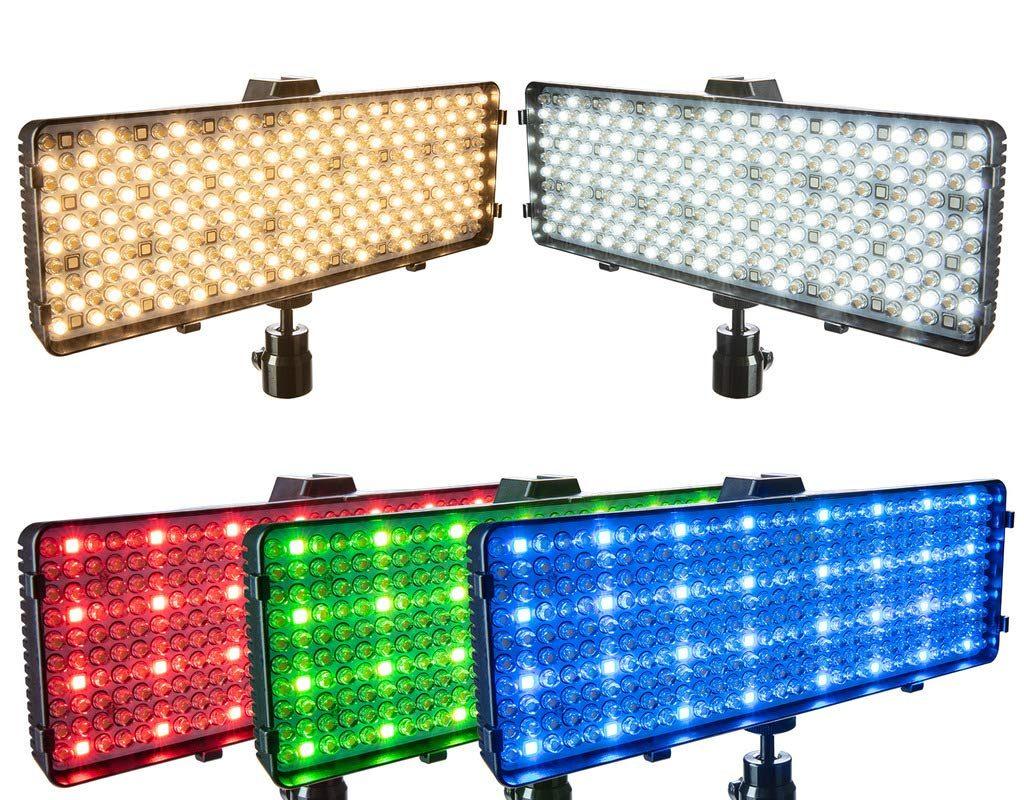 Polaroid RGB LED Camera/Camcorder Light 21