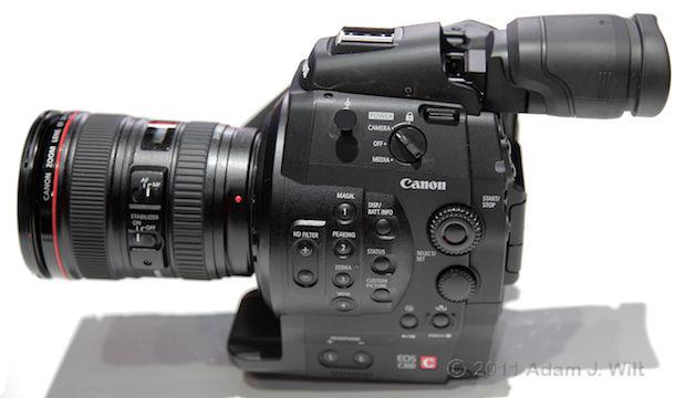 Quick Look: Canon EOS C300 LSS 1080p Camcorder 105