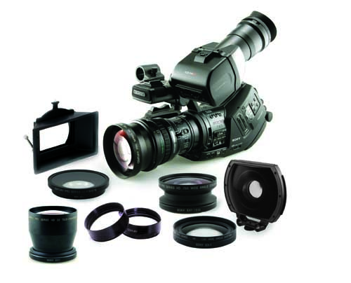 New Century HD Lens Accessories for Sony PMW-EX3 1