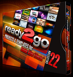 Stylish Looks in All-New ready2go Projects & Templates for After Effects® 3
