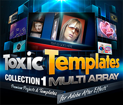 All-New Premium Toxic Templates(TM) Offer Refreshing Twist On Template Genre 1