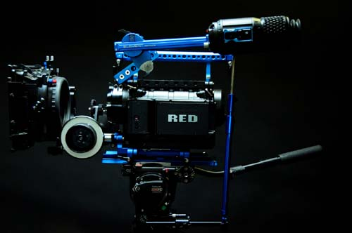 New Element Technica Accessories Support RED One Electronic Viewfinder 1